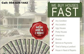123 Sell Today  Cash for your Houses, hollywood, FL