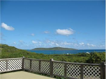 5A Solitude, Expansive View of Buck Island & Caribbean from the Huge Deck