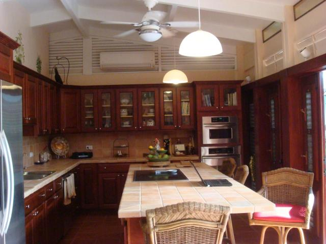 New Mahogany Kitchen