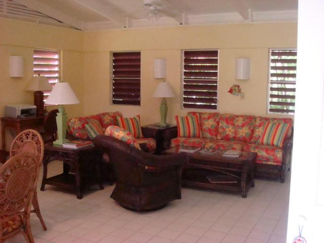 Guest House Living Area