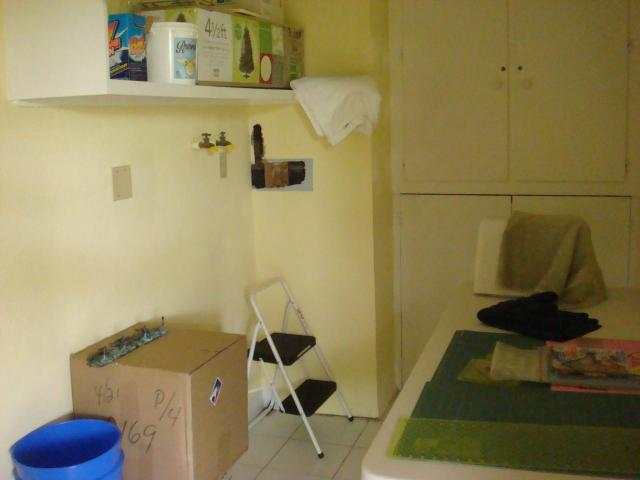 Guest House Laundry / Utility Room & Storage