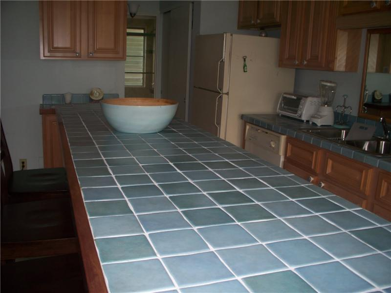 Totally New Kitchen, Tile Counters