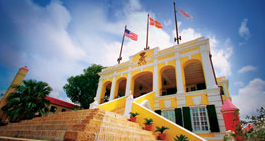 Historical Government House in Downtown Christiansted