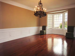 Custom Lights and Walk-in Bay Window