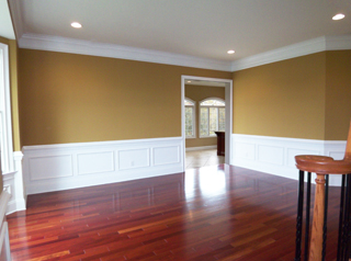 Living Room with Hardwoods