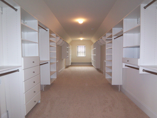 Large Walk-in Closet