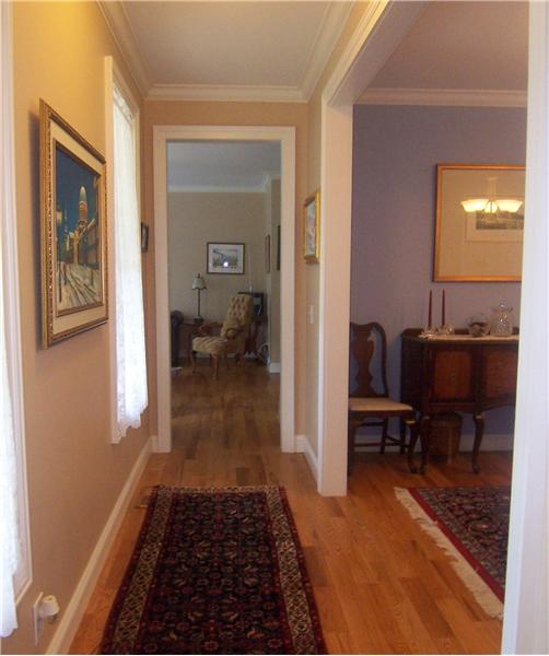 Hallway leading from front door