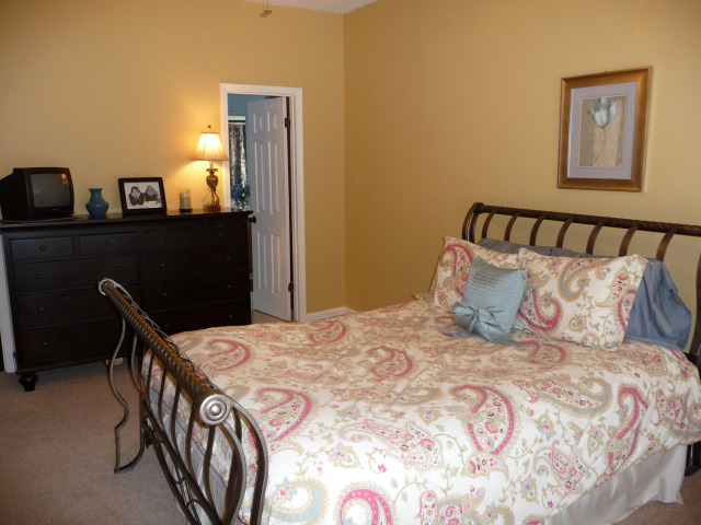 Another view of the spacious master bedroom