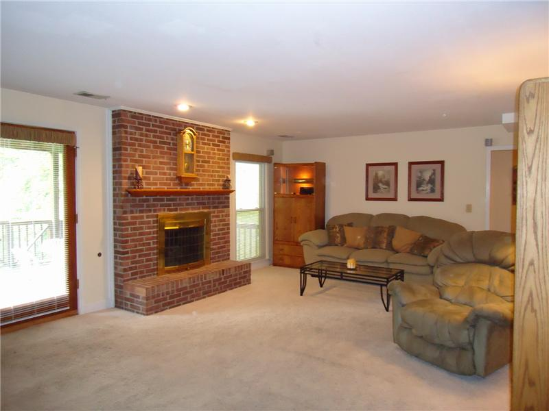 Large Den in Basement