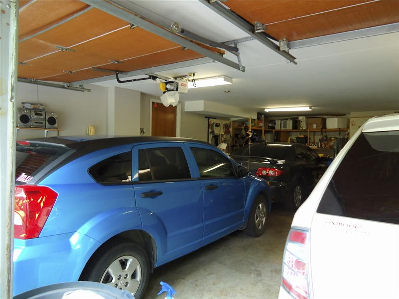Extra Deep Garage can park 4 Cars Piggyback