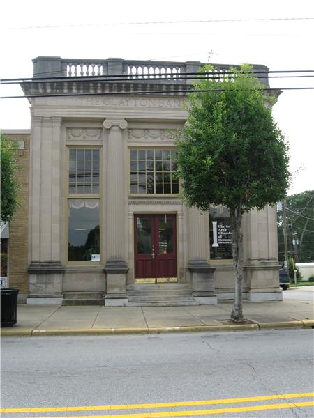Historic building in Downtown Clayton
