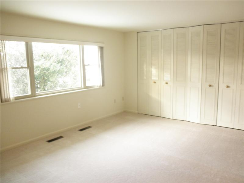 Master Bedroom with large closets