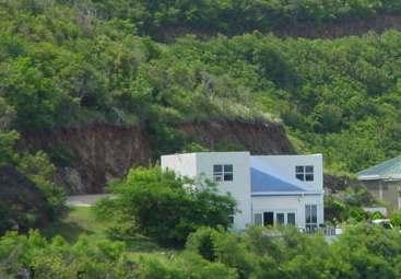Exterior of the Property, viewed from the hillside