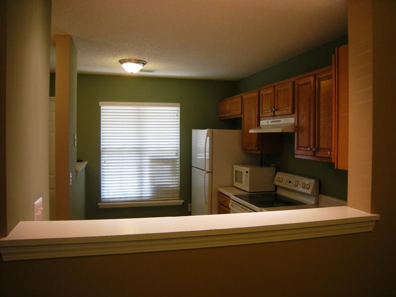 Kitchen offers an opening to converse and view your family and guests in the dining area and greatroom