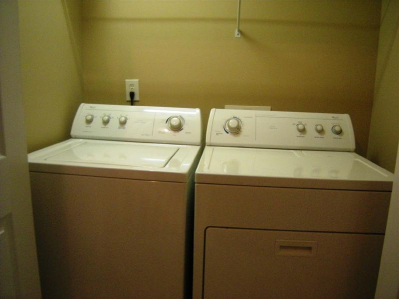 The washer and dryer are included with purchase